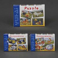 """Деревянная игра """"Пазлы"""" 779-626 (144) 3 вида, в коробке"""