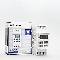 Реле времени (недельный таймер) Feron TM41 на DIN-рейку, фото 1