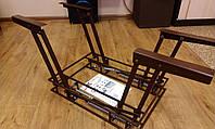 Механизм стол-трансформер коричневый(газ лифт ,пружина)