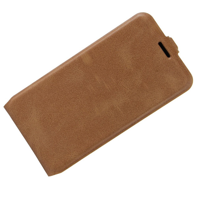 чехол флип на Huawei P10 коричневый