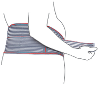 Бандаж для беременных (до- и послеродовой) эластичный (арт. R4102)