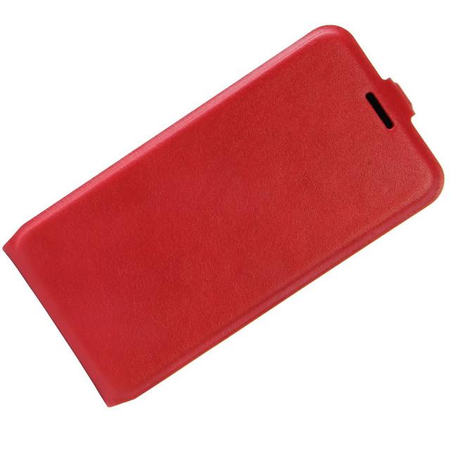 чехол флип на Huawei P10 красный