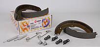Колодки ручника MB Sprinter/VW Crafter 06- (180x25) с пружинками Autotechteile