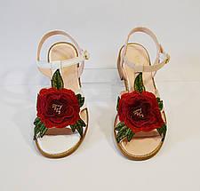 Босоножки с цветком женские Molly Bessa, фото 3