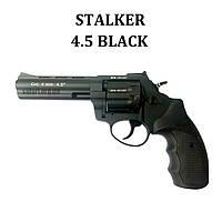 """Револьвер Stalker 4.5"""" (барабан сталь) черный, фото 1"""