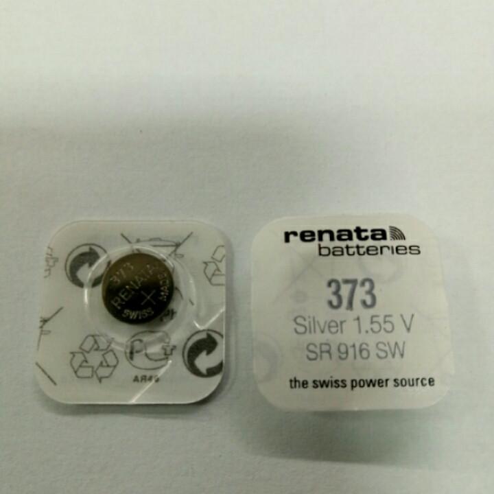 Батарейка часовая Renata SR916 (373)