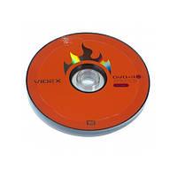 Диск DVD+R 10 Videx, 4.7Gb, 16x, Printable, Bulk Box
