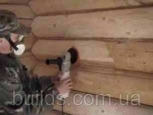 Шлифовка деревянного дома из сруба, фото 2
