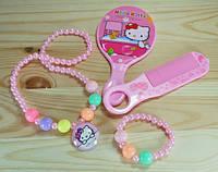 СП 3200-1 Комплект детский (зеркало, гребень, подвеска, браслет)