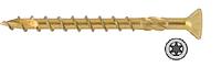 Шуруп универсальный желтый цинк 3,0x16