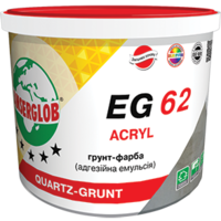 Грунт краска Anserglob EG-62 с кварцевым песком (10л/15кг)