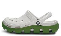 Crocs женские  Crocs Duet Sport Clog White Green