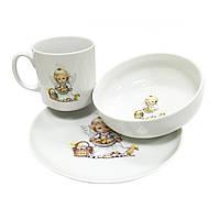 Набор детской посуды фарфоровой Cmielow Wonder 6503T06E2B121