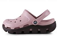 Crocs женские Crocs Duet Sport Clog Pink Black