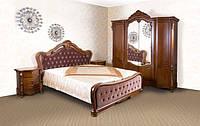 Деревянная двухспальная кровать Valencia 1800х2000