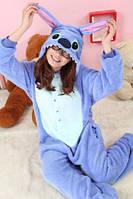 Пижама кигуруми kigurumi костюм Стич Stich S