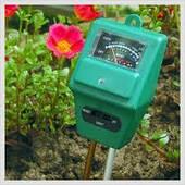РН-метр/Вологомір/Люксметр для грунту (прилад 3 в 1) АМТ-100