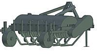 Мульчувач лісний колісний з дуговими опорами МЛК-1,5Д