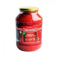 Томаты в томатном соку (1,5л.)