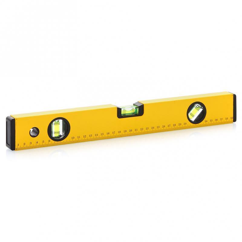 Рівень будівельний 400 мм/жовтий.