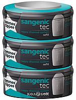 Сменная кассета для накопителя подгузников Sangenic Tec тройная упаковка