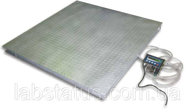Весы платформенные TB4-1000-0,2-(1500x1500)-S-12eh (пыле-влагозащищенные)