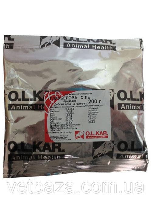 Глауберовая соль  уп - 200г O.L.KAR.