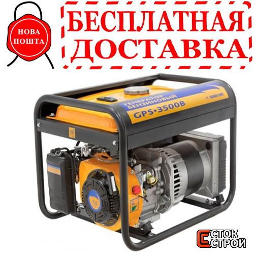 Бензиновый генератор SADKO GPS-3500 В+масло в подарок