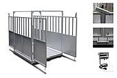 Весы для животных ТВ4-300-0,1-(1000х1200)-S-12eh с огород. (пыле-влагозащищенные)