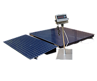 Весы платформенные ЗЕВС ВПЕ-500-4-0,2-(1500х2000)-h, Премиум