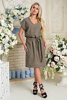 Платье Пронто АПП 0130 хаки, фото 1