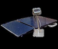 Весы платформенные ЗЕВС ВПЕ-2000-4-0,5-(1200х1500)-h, Премиум