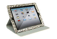 Чехол-книжка Nuoku LEO stylish leather case iPad 3 Grey