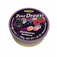 Леденцы со вкусом лесных ягод Woogie Fine Drops berries Drops 200гр