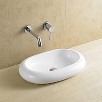 Керамический умывальник на столешницу в ванную Rocio A8032