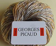Мохер для вязания -Melange Naturelle,50%мохер,65м,50гр.