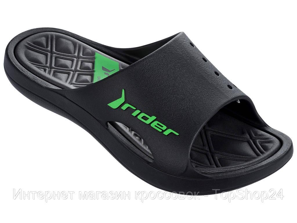Мужские шлепки Rider Bay VI Black/Grey 81901-24061