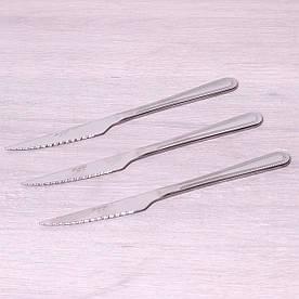 Набор стейковых ножей Kamille 3 предмета из нержавеющей стали