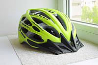 Велосипедный шлем Gub салатовый