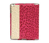 Чехол-книжка Nuoku LEO stylish leather case iPad 4 Pink