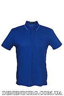 Футболка-поло мужская ARMANI 9037 синяя