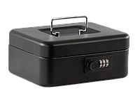 Скринька для грошей Buromax,200x160x90мм, 20см ,матова, чорна(BM.0400)