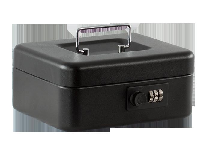 Скринька для грошей 20см (матова), чорна