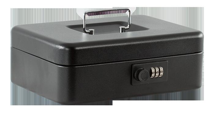 Скринька для грошей 25см (матова), чорна