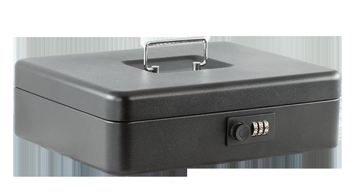 Скринька для грошей 30см (матова), чорна