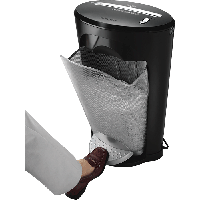 Знищувач паперу DS-1, 11 арк., фрагменти 3,9х35мм, корзина 18 літр.