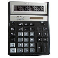 Калькулятор BS-777ВК 12р., 2-пит, чорний