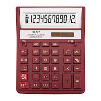 Калькулятор BS-777RD 12р., 2-пит, червоний