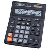 Калькулятор настільний Citizen 153x199x30.5 мм, 12 розрядний, пластик, чорний (SDC-444S)