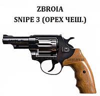 Револьвер Zbroia SNIPE 3 (орех чеш.)